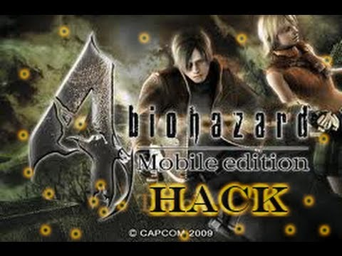 !Hack Resident Evil 4 iphone,ipod touch,ipad,