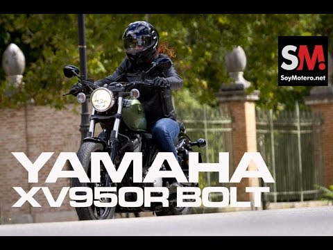 Prueba Yamaha XV950R Bolt 2014
