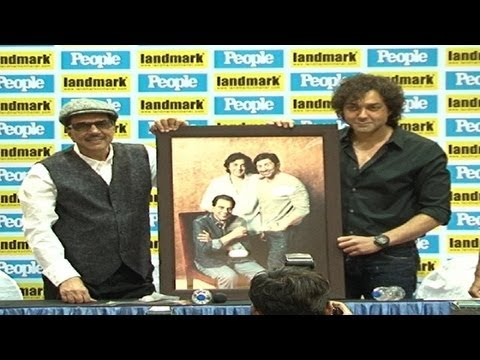 Launch Of PEOPLE Magazine Cover By Dharmendra, & Bobby Deol