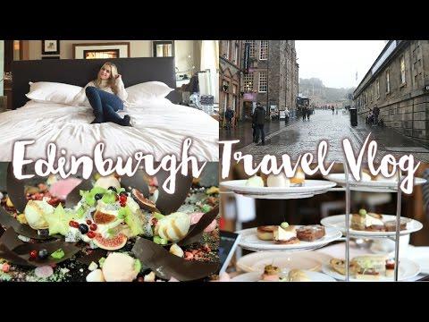 Travel Vlog   3 Days In Edinburgh