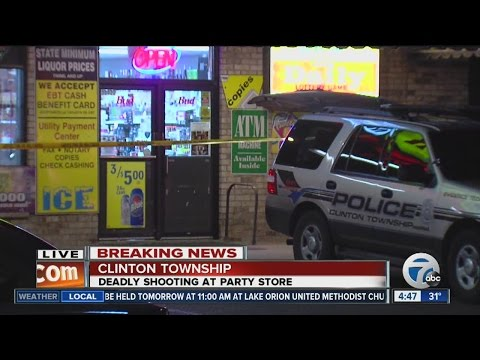 store clerk in clinton twp. shot to death