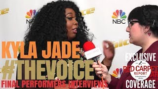 "Download Lagu Kyla Jade #TeamBlake interviewed at ""The Voice"" Season 14 Backstage Top 4 Artists #TheVoice #Top4 Gratis STAFABAND"