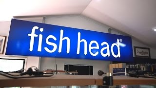 Lure shopping at Fish Head's High-end fishing tackle showroom