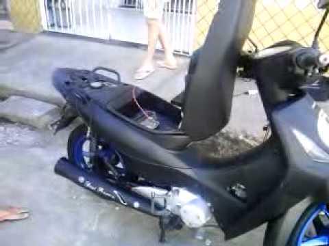 Som Moto Biz Racha de Som na Moto