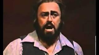 Luciano Pavarotti Video - Vesti La Giubba. Ridi, Pagliaccio. Luciano Pavarotti