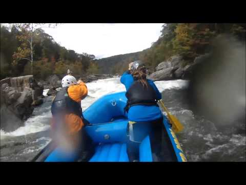 Upper Gauley Rafting Highlights Oct 13, 2013
