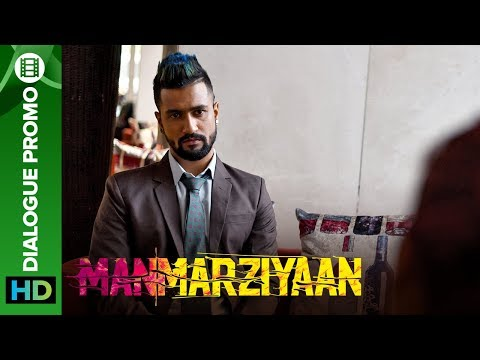 When Vicky confesses his love for Rumi to Robbie | Manmarziyaan | Dialogue Promo | Abhishek, Taapsee