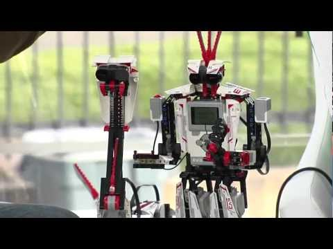 LEGO MINDSTORM Robots, Camilla Bottke Interview | TechCrunch At CES 2013