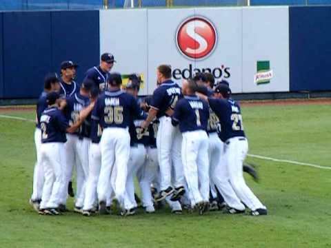 FIU Baseball Pregame Ritual 2009.