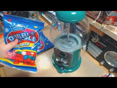 Gum Ball Machine Disassemble, Fixing, Cleaning and Gum Balls