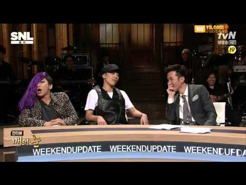 BBVN][Vietsub]  Seungri on Saturday Night Live   YG CEO Parody with GD and Yoo Hee Yeol [07 09 13]