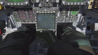 DCS F/A-18C BUG - Auto Waypoint cicle when manual back (18/6/18)