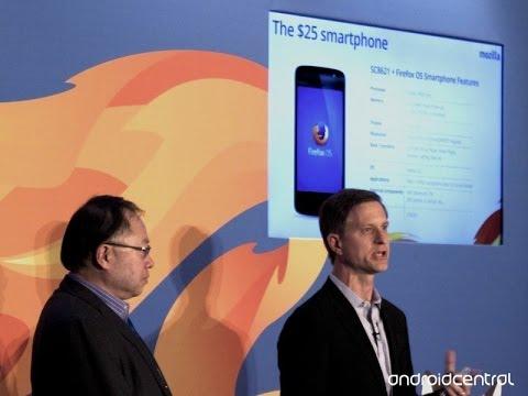 Mozilla Plans '$25 Smartphone' For Emerging  Markets