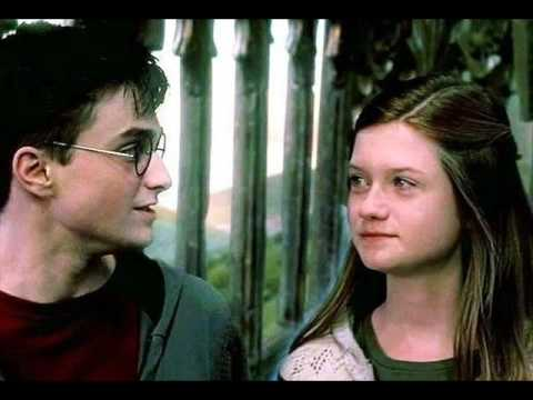 Harry And Ginny Hugging Harry Ginny