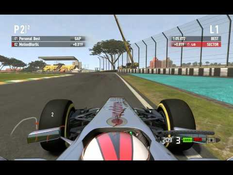 Codemasters F1 2011 Time Trial Rush – Brazil, Sao Paulo