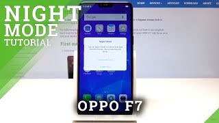 How to Activate Night Shield in OPPO F7 - Night Mode / Night Light