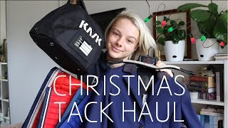 CHRISTMAS TACK HAUL | KASK, CAVALLERIA TOSCANA, IPPICO +
