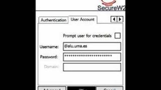 Secure W2 en Windows mobile