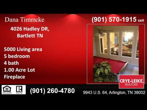Homes for sale near Bon Lin Middle School in Bartlett TN - Dana Timmcke