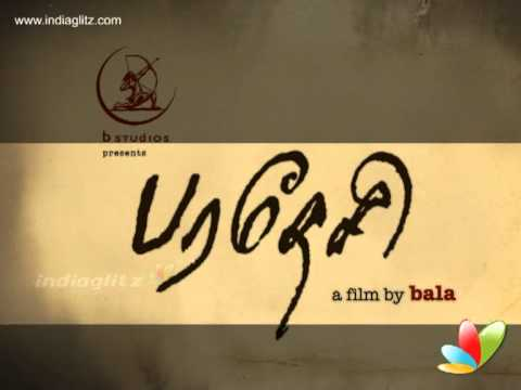 Bala's Paradesi first look and on location