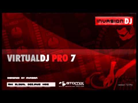 Atomix Virtual DJ Pro 7.4 +Sound Effects, Skins,Samples.