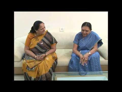 Gujarat CM meets with Honorable Lal krishna advani ji