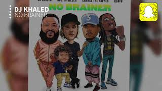 Download Lagu DJ Khaled - No Brainer (Clean) ft. Justin Bieber, Chance the Rapper, Quavo Gratis STAFABAND