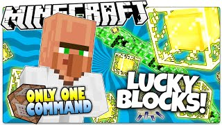 Minecraft   LUCKY BLOCKS   Dr. Trayaurus!?   Only One Command (One Command Creation)