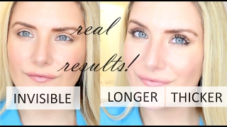 HOW TO MAKE LASHES LOOK DRAMATICALLY LONGER AND THICKER WITH MASCARA! NEW MASCARA ROUTINE
