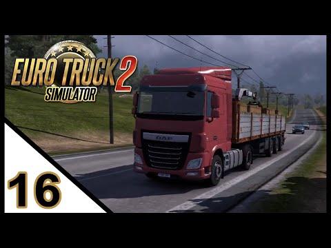 Euro Truck Simulator 2 #16 - Entrega Rápida: Viagem tranquila e recompensa boa
