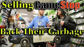 Selling Dumpster Finds Back To Gamestop - Cops Called
