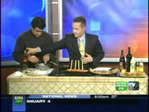 KCRA 3 News cooks up heart-healthy fried foods using Palm Oil with Chef Gerard Viverito