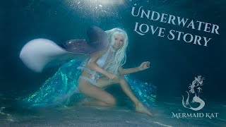 Underwater Love Story - Girls falls in Love with a Stingray