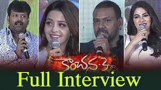 Kanchana 3 Team Full Interview | Raghava Lawrence | Vedhika | Top Telugu Media