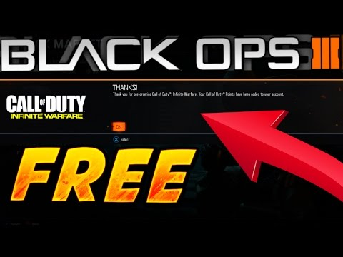 "FREE COD POINTS When You PRE ORDER ""INFINITE WARFARE"" + PS4 THEME!"