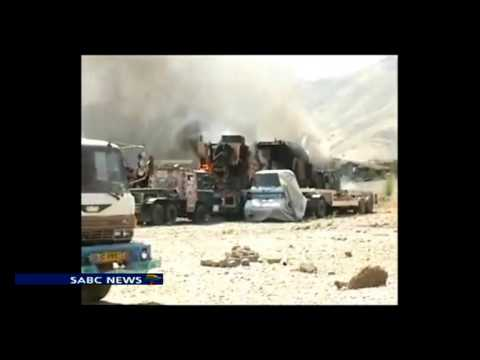 A NATO airstrike in Afghanistan's lawless east has hit a pickup truck