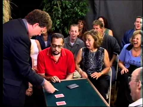 Amazing Three Card Monte Routine