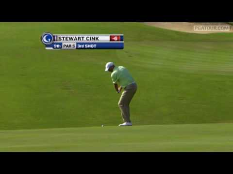 Shot of the Day: Stewart Cink holes out for eagle at Kapalua 39 (2010)