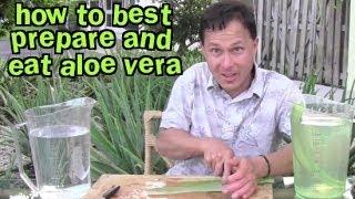 How to Best Prepare and Eat Aloe Vera & Aloe FAQ