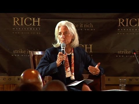 Mindspeak: Christine Lagarde, Managing Director, IMF  @alykhansatchu.