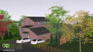 Watch SketchUp walkthrough for Low budget 3d Architectural Animation & Visualization