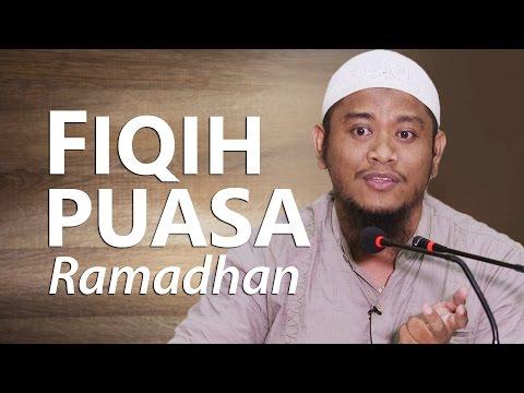 Kajian Islam : Fiqih Puasa Ramadhan - Ustadz Amir As-Soronji, Lc, M.Pd.I