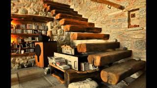 Каменный дом на горе Пелион от архитектора Dimitris Philippitzis (Греция)