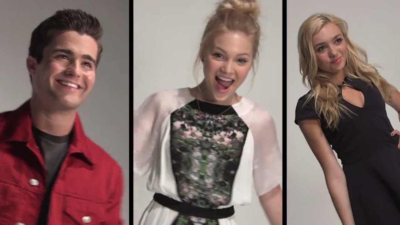 Olivia Holt And Spencer Boldman Olivia Holt  amp Peyton List Show