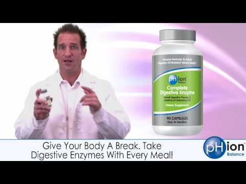 Digestive Enzyme Supplement - Advanced Formula  From Vegetable Enzymes