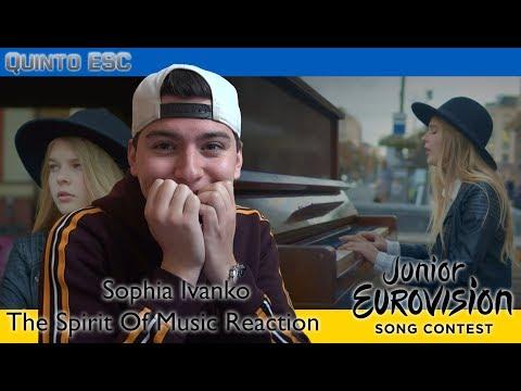 Sophia Ivanko - The Spirit Of Music Reaction - Junior Eurovision 2019 (Ukraine) - Quinto ESC