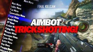 HITTING THE CRAZIEST TRICKSHOTS! - BO2 Aimbot Trickshotting!