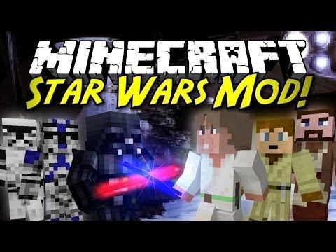 Minecraft Mod Showcase: STAR WARS MOD! [1.6.4]