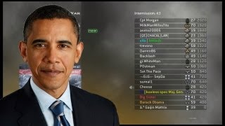 Barack Obama plays Modern Warfare 2 (MW2)