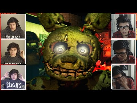 O INFERNO VOLTOU! - Five Nights at Freddy's 3